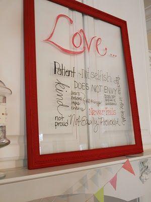 i love vinyl on glass :)Valentine Day Ideas, Quadros De, Decor Ideas, Gift Ideas, Vidro Para, De Recados, Valentine Ideas, Para Recados, Of Vidro