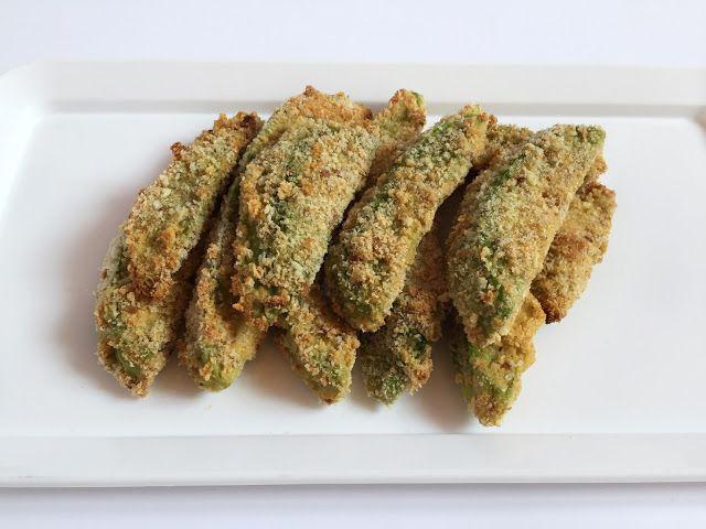 Inglourious Bananas: Baked Avocado Fries // Patatine di avocado al forn...