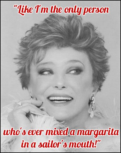 Rue McClanahan as Blanche Devereaux | A trick I'll have to try ;)