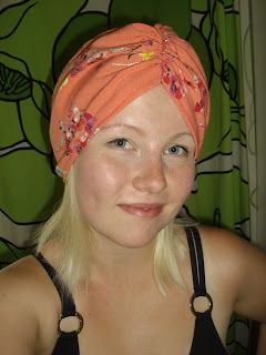 My summer turban