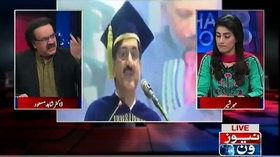 Dr. Shahid Masood criticize CM Sindh Murad Ali Shah, PM Nawaz Sharif and Ch Nisar