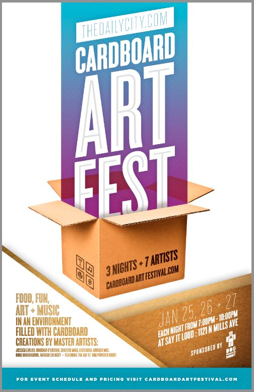 TheDailyCity.com Cardboard Art Festival, 3-Night Event Celebrates Cardboard Art
