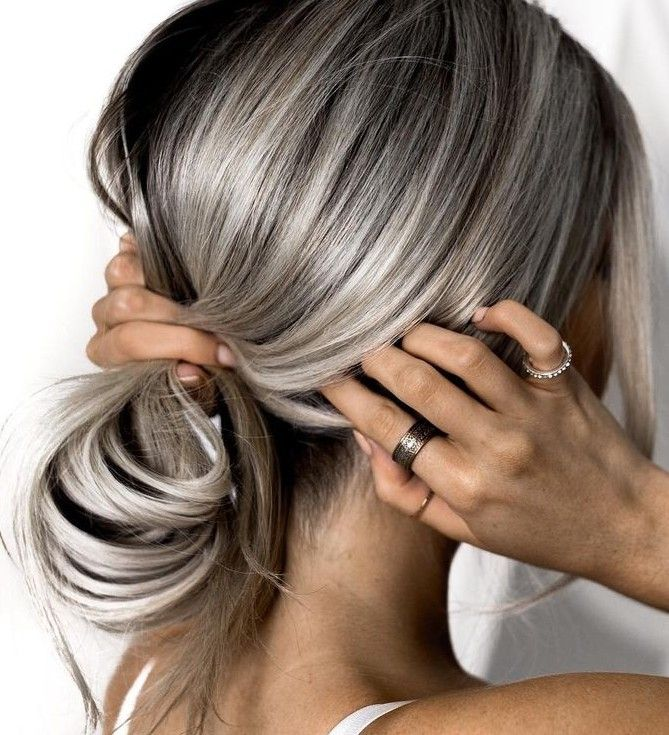Best 25 silver highlights ideas on pinterest going grey 40 beauty looks you need to try silver blonde hairash pmusecretfo Image collections