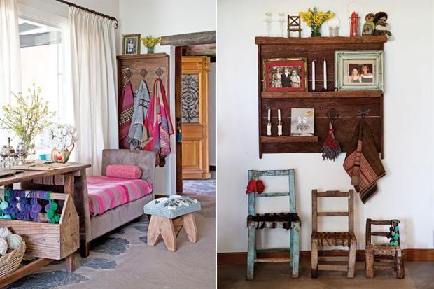 Una casa con estilo campo tejidos and crochet - Casas con estilo ...