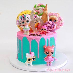 Noch ein Blick auf unseren wunderschönen LOL Surprise Eistüte-Kuchen! Es war so, dass er …   – ARK