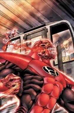 Red Lantern / Atrocitus (Красный Фонарь / Атроцитус)