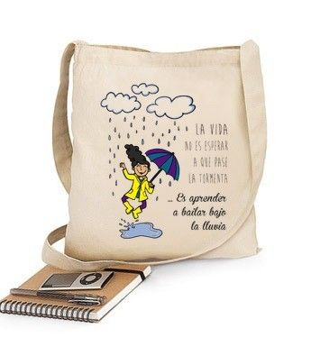 Bolsa Bailar bajo la lluvia