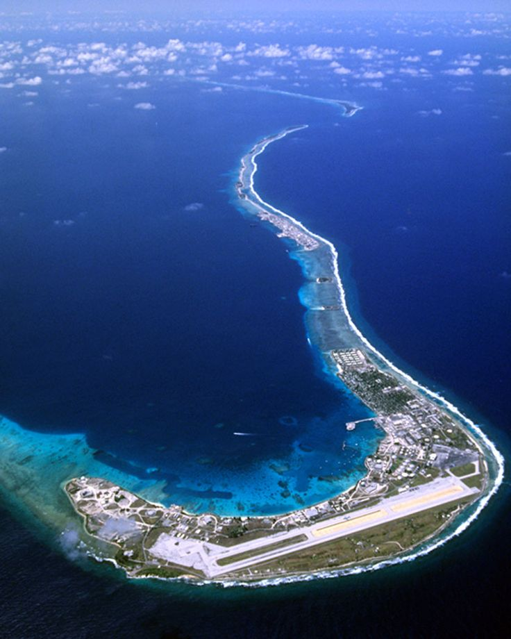 Quadulan Atoll - My father was stationed here during the Korean War.