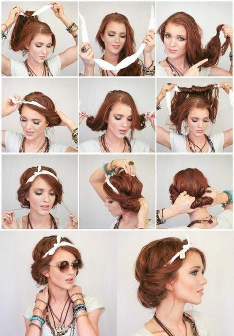 1001 Inspirierende Ideen Für Coole Bandana Frisuren Hair And