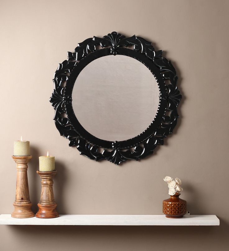 Emir Black MDF mirror #mirrors #mirror #reflectors #show #pinit #pinterest #shazliving Shop at: https://www.shazliving.com/