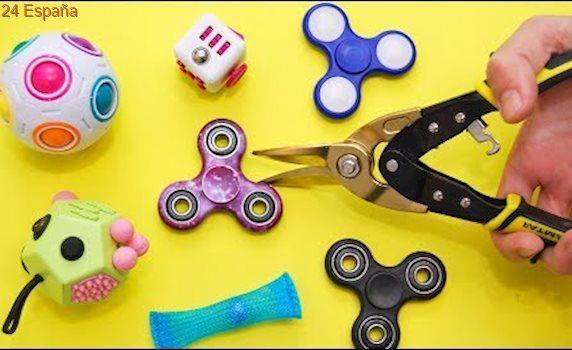 Qué Hay Dentro de un Spinner, Fidget Cube y otros juguetes antiestrés?
