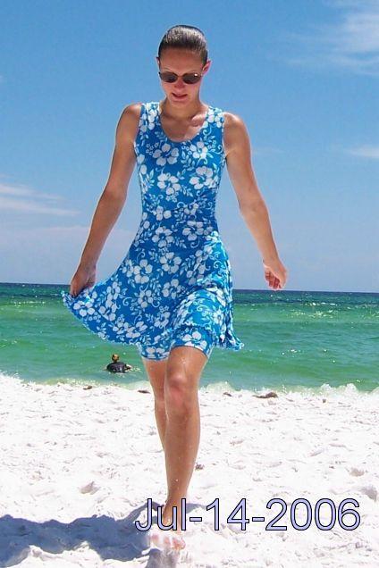 Longer swim dresses