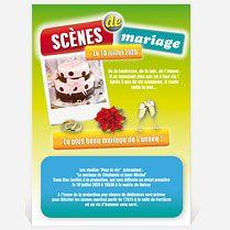 Faire-part mariage humoristique sur MonFairePart.