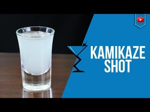 Kamikaze Shot - How to make a Kamikaze Shot Cocktail Recipe by Drink Lab (Popular) - http://2lazy4cook.com/kamikaze-shot-how-to-make-a-kamikaze-shot-cocktail-recipe-by-drink-lab-popular/