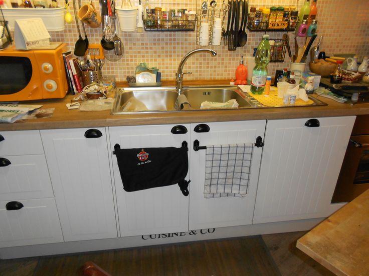 La cucina Ikea rivisitata e personalizzata....
