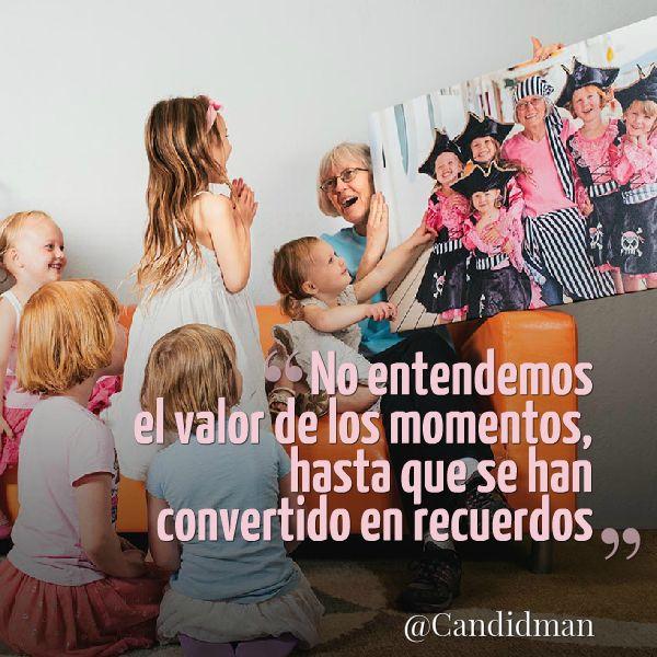 """""""No entendemos el valor de los #Momentos, hasta que se han convertido en #Recuerdos"""". #Citas #Frases @Candidman"""