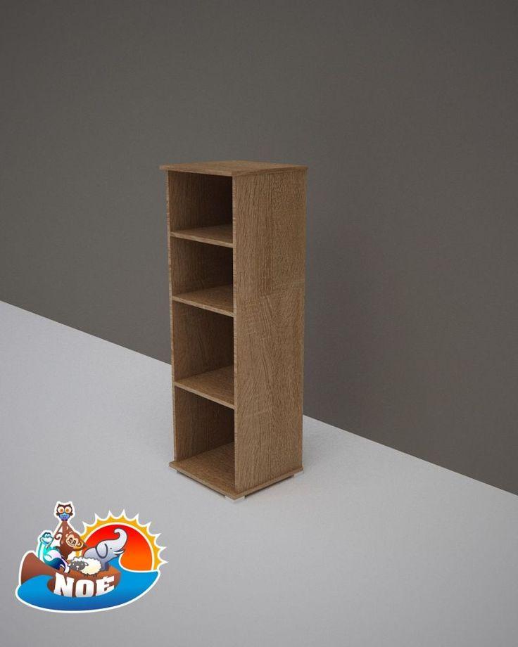 Todi Noé keskeny nyitott polcos szekrény