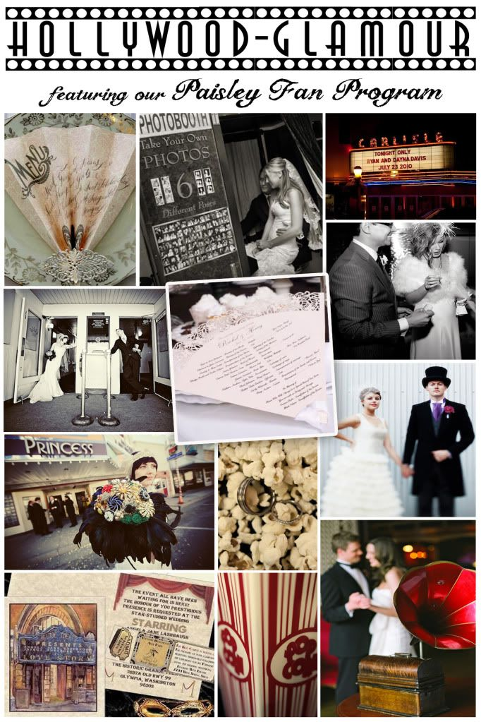 Old Hollywood Glamour Wedding Theme...I wonder how much a photo booth would cost to rent??