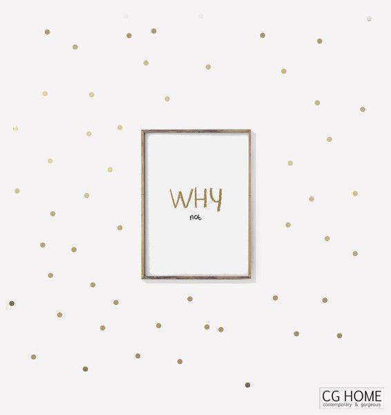 die besten 25 goldene punkte wand ideen auf pinterest polka dot badezimmer tupfen w nde und. Black Bedroom Furniture Sets. Home Design Ideas