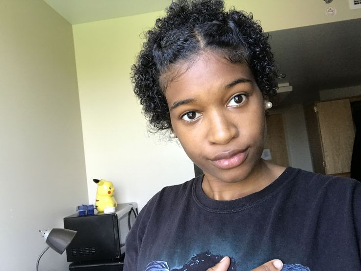 Click for my natural hair journey before the big chop!