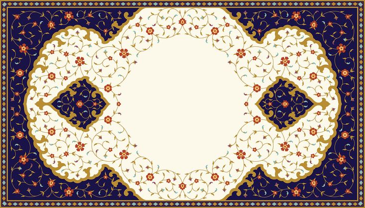 """Check out my @Behance project: """"Traditional Arabic floral frame"""" https://www.behance.net/gallery/63435593/Traditional-Arabic-floral-frame"""