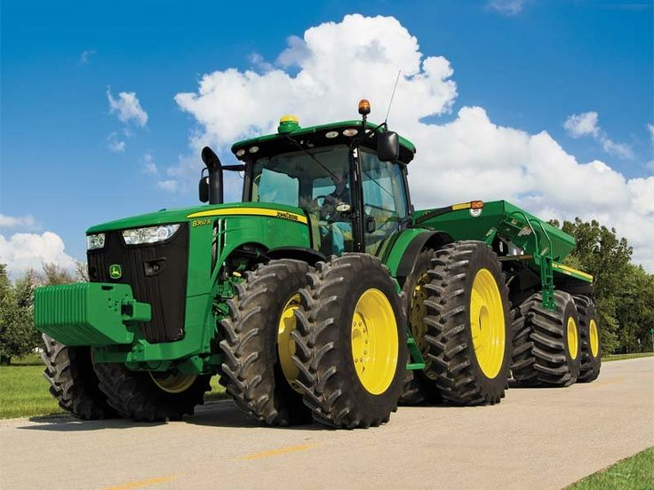 Harry's Haven : Photo This is a picture of the  John  Deere 8360R introduced in  2010