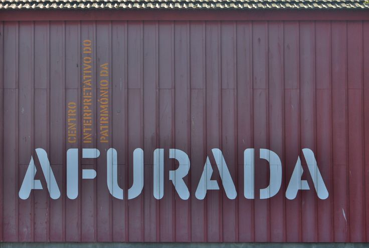 In the town of Afurada, Portugal