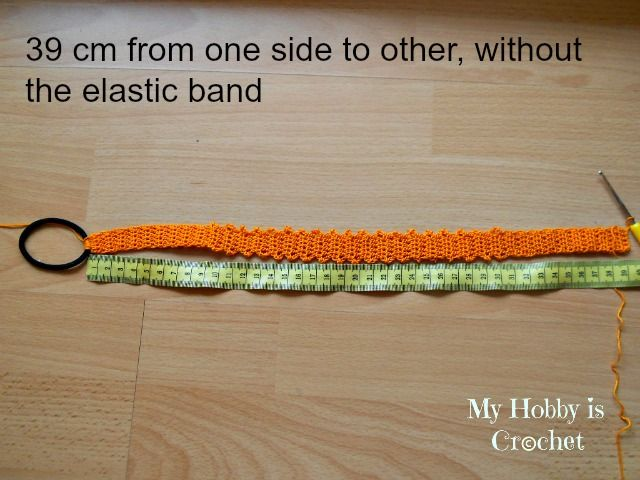 My Hobby Is Crochet: Thread Headband   Free Crochet Pattern with Tutorial   My Hobby is Crochet
