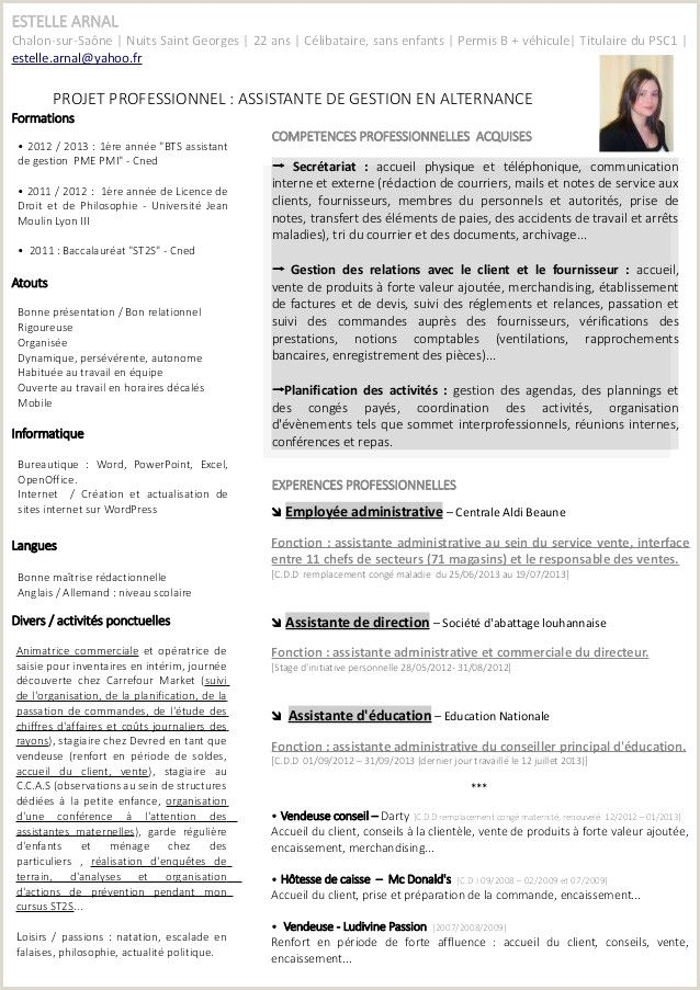 Exemple De Cv Campus France Pdf Resume Template Free Resume Words Changing Jobs