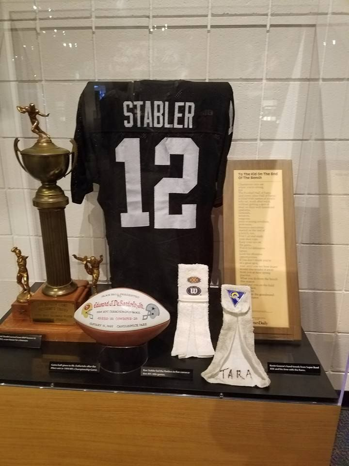 Raiders History: Touring the Pro Football Hall of Fame