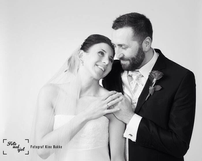 The first wedding of 2014 at Foto med sjel