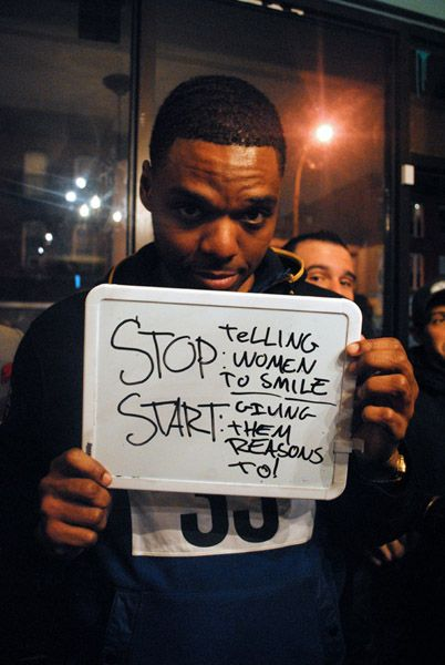 'Stop Telling Women to Smile' Project About Street Harassment (Photos)