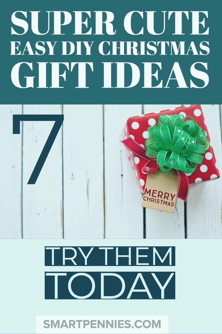 super cute easy diy christmas gift ideas in everything diy