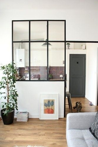 Window with black frame wohnung pinterest fen tre for Fenetre windows