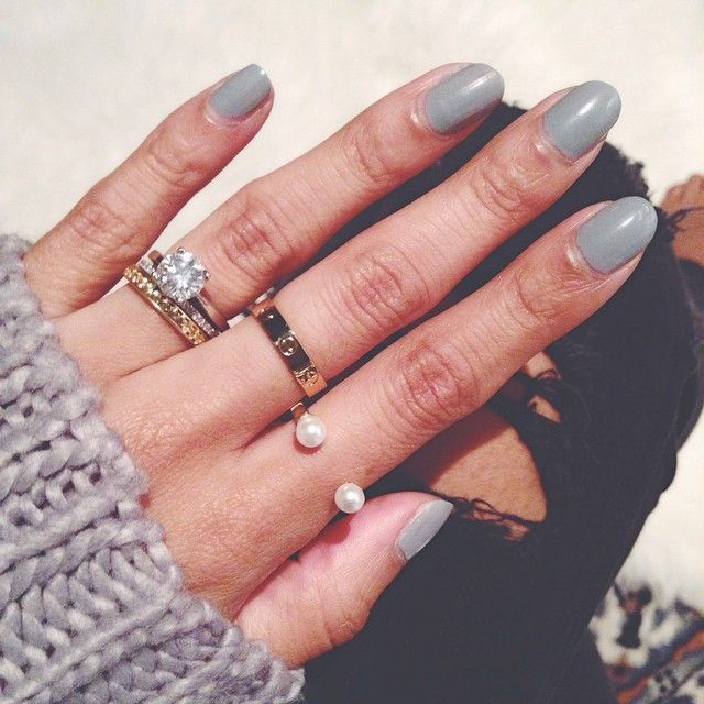 pearl ring | cartier love ring #details