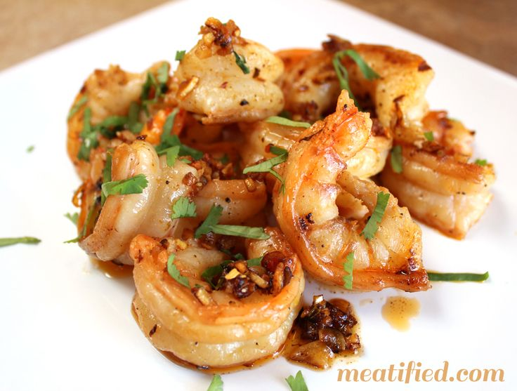 Garlic Shrimp Shared on https://www.facebook.com/LowCarbZen