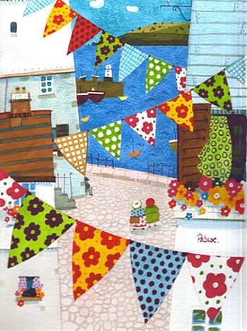 """""""Bunting Galore"""" by Natalie Pascoe"""
