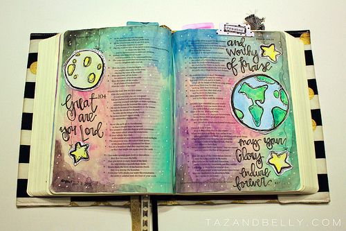 Bible Journaling | Psalm 104