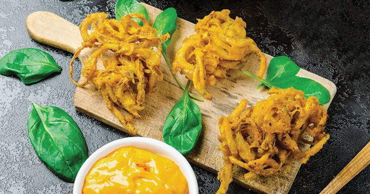 Onion Bhaji | Recipe by Eugene Hamilton | Made using the Kenwood Grain Mill Attachment
