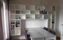 Italiaanse Hangende Boekenwand 002
