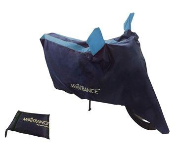 Show details for Mototrance - Sporty Arc Blue Aqua Bike Body Cover for Bajaj Discover 125ST