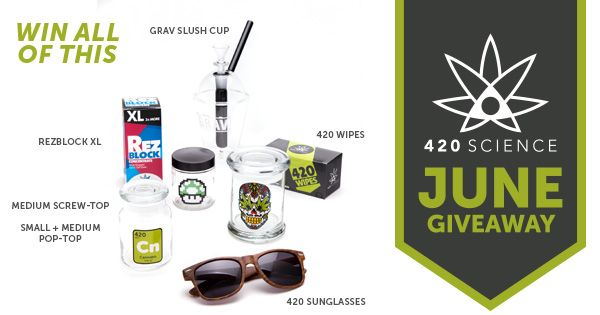 420 Science June Giveaway http://420science.info/giveaways/420-science-june-giveaway/?lucky=35522