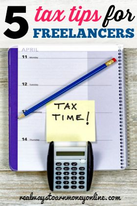 Are you a freelancer? Here are five tips that may help you when tax time rolls around.