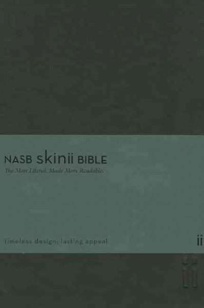 Holy Bible: New American Standard Bible,, Italian Duo-Tone, Thinline, Skinii