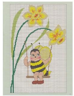 nattys cross stitch corner: spring