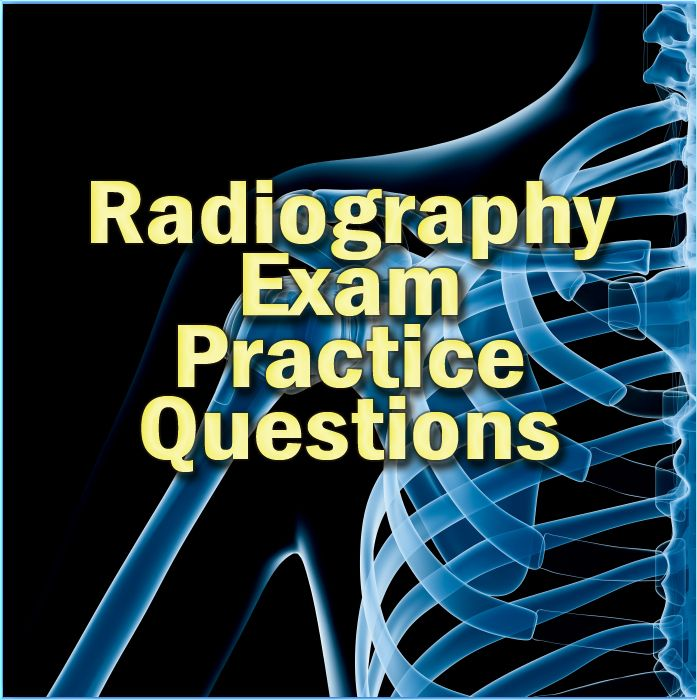 To become a Radiologic Technologist, you'll need to take the radiography exam. These free Radiography exam practice questions will give you a heads up as to what to expect on the actual Radiography exam. #radiography