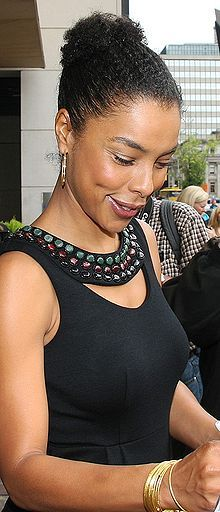 I love Sophie Okonedo, she's so gorgeous