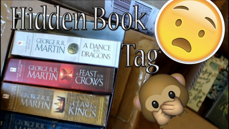 Hidden Book Tag || Where the h** are my books?!
