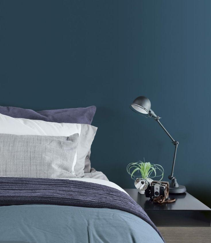 Die besten 25+ Entspannendes Schlafzimmer Ideen auf Pinterest - wandfarbe petrol
