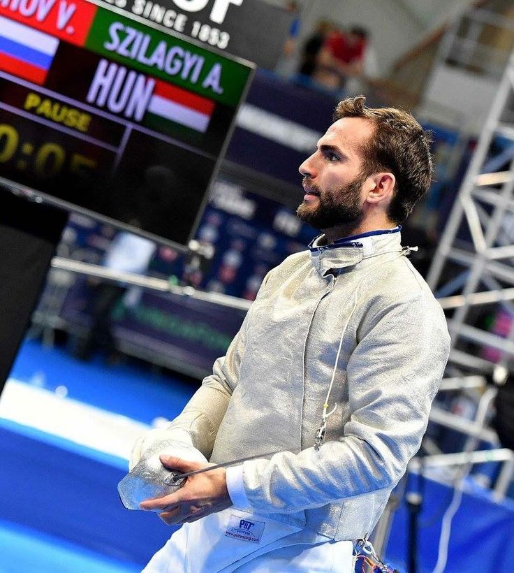 Men's sabre at the #MoscowFGP with @szilagyi_aron || #roadtorio #rio2016…